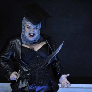 Rinaldo (Handel) Karina Gauvin (Armida) Glyndebourne Opera Photographer credit: Robbie Jack