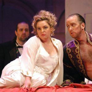 Agrippina Karina Gauvin (Poppea) Kevin Burdette (Claudius)
