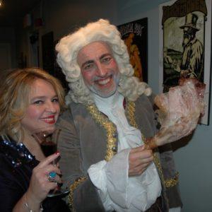 """C'est la fête avec """"Herr Handel"""" (Ivars Taurins) Sing along Messiah. Toronto, décembre 2011"""