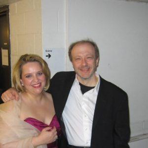 Avec l'incomparable Marc-André Hamelin, Montréal, mars 2009