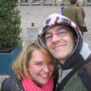 Avec Francis Colpron, Tournée Européenne Purcell Project, mars 2009