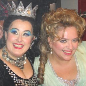 Avec Aline Kutan, Zauberflöte, Montréal, 2009