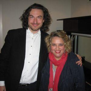 Avec Maciej Pikulski, Recital au Concertgebouw. Amsterdam, septembre 2011