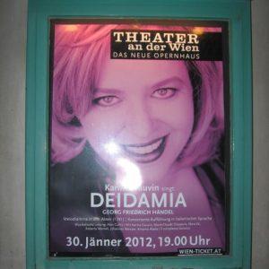 Théâtre an der Wien, janvier 2012