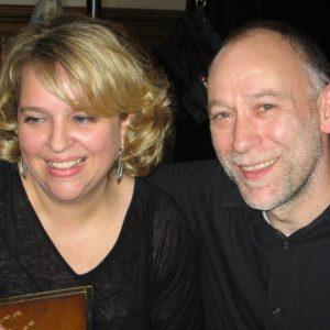 """Avec Alex Weimann, enregistrement du projet """"Prima Donna"""", mai 2012"""