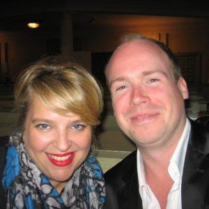 Avec le contreténor Hollandais Maarten Engeltjes septembre 2012