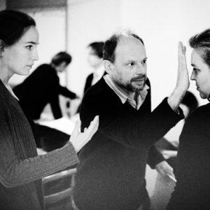 En répétition pour La Clemenza di Tito avec Kate Lindsey et Denis Podalydès
