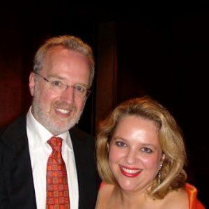 Avec mon collaborateur le plus fidèle le pianiste Michael Mc Mahon 2008