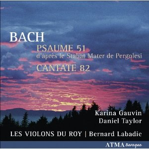 PSAUME 51 / CANTATE 82 — 2009